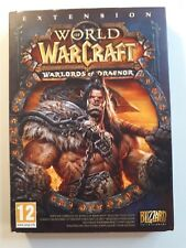 WORLD OF WARCRAFT WARLORDS OF DRAENOR EXPANSION SET...PC...**SEALED** FRENCH!!