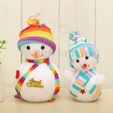 Décorations de sapin de Noël bonhomme de neige sans marque