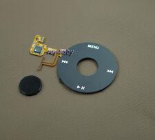 black clickwheel black central button for ipod 5th 5.5th video 30gb 60gb 80gb