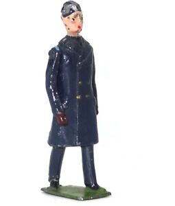 BRITAINS FROM SET NO. 2011 R.A.F. OFFICER IN GREATCOAT - 1948