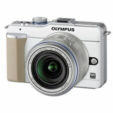 Excellent! Olympus E-PL1 12.3MP with 14-42mm White - 1 year warranty