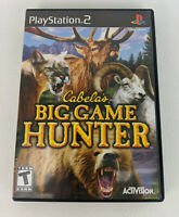 Cabela's Big Game Hunter 2008 - PS2 Playstation 2 - Free Shipping
