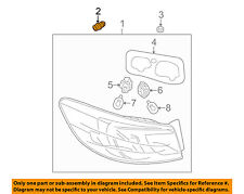 MAZDA OEM 10-13 3 Taillight Tail Light-Rear-Tail Lamp Assembly Grommet GS1F5114Y