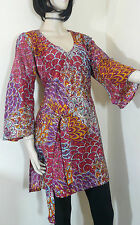 Unbranded Rayon V Neck Long Sleeve Tops & Shirts for Women