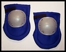 Knee Pad hard Cap Tile Electrical Auto repair Garden Floor Kneel New Pair BLUE