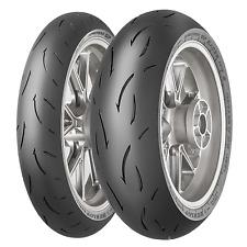 Coppia gomme pneumatici Dunlop GP Racer D212 120/70 ZR 17 58W 180/55 ZR 17 73W