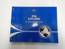 1996 Ford EXPLORER TRUCK Electrical & Vacuum Troubleshooting Wiring EWD Manual