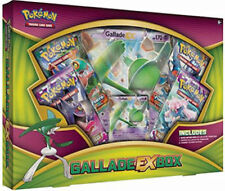 Gallade EX Box Collection POKEMON TCG Cards 4 Booster Packs + Promo Trading Card