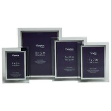 4x6 5x7 6x8 8x10 Clear Glass With Mirror Highlight Photo Picture Frame All Sizes