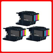 12 Ink set LC1240 For Brother MFC J6510DW J5910DW J6710DW DCP J525W J725DW