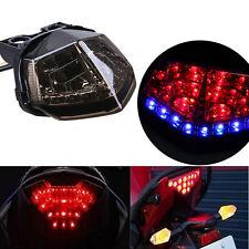 LED Integrated Tail Light Turn Signals Fits Kawasaki Ninja 250R 2008-2012 Smoke