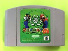 MARIO GOLF 64 Nintendo 64 N64 FREE Shipping USED JAPAN GAME