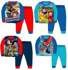 Pyjamas Disney pour garçon de 2 à 16 ans en 100% coton