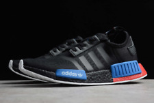 Adidas NMD R1 Black Red Blue White FX4355 Sneakers Shoes NEW 8.5& 9.5