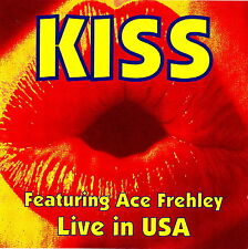 KISS featuring ACE FREHLEY - Live in USA 1990/92 CD RARO