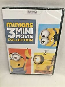 Minions 3 Mini-Movie Collection DVD Tyler Werrin NEW SEALED!