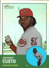 2012 Topps Heritage Chrome Refractors #HP56 Johnny Cueto #'D 013/563