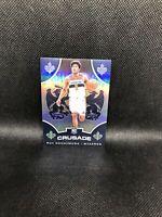2019-20 Panini Chronicles Rui Hachimura SILVER Crusade Rookie Card #521 Wizards