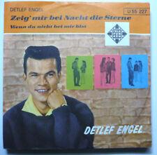 """DETLEF ENGEL - Zeig' mir bei Nacht die Sterne - 7""""-Single"""