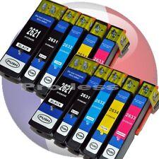 10 cartouches non oem epson T26 XL T2636 XL pour imprimantes 600 605 700 800 XP