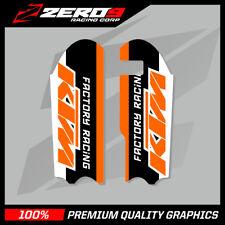 KTM SX 50 2013-2019 SX 65 2009-2019 Motocross MX Gráficos INFERIOR HORQUILLA FR de gráficos
