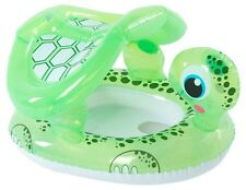 Bestway H2O GO Inflatable Floating Turtle Baby Care Seat Swim Pool Float Age 1-2