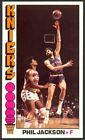 1976-77 Topps Basketball Phil Jackson #77 - New York Knicks - Mint