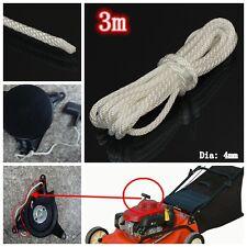 3mx4mm Seilzugstarter Starterseil Schnur Seil  Nylon Für Rasenmäher Kettensäge