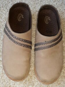 Chaco Caribou Women's Size 8.5 Brown Leather Clog, Mule, Slides Worn Once!