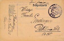 Nr 11426 Feldpost Karte K,u.K.Schützen Regt.2 1918 Fpa 646 Insonzo Südtirol