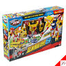 Hello Carbot PATRON S Combined School Bus, Police Car Transformer Robot Kids Toy