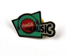 Coca Cola Coke USA Solapa Pin Botón Divisa de - Música Tapa botella