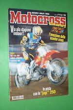 MOTOCROSS 12 DICEMBRE 1996 TM 125 250 ENDURO/CROSS KAWASAKI KX 125 TKP YAMAHA WR