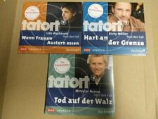 3x CD Tatort ARD Hörbuch u.a. Wenn Frauen Austern essen Hörbücher München neu
