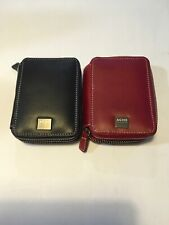 NEW ACME Made Travel Regular Leather Case for your iPod - Red or Black Leather