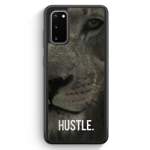 Hustle. Löwe Motivation Silikon Hülle für Samsung Galaxy S20 FE Motiv Design ...