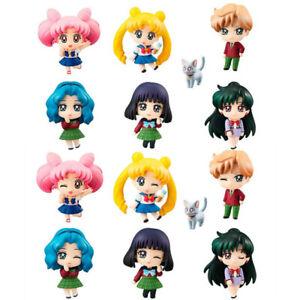 Petit Chara Sailor Moon Maiden Of School Life Tsukino Usagi Statue 6pcs Figurine