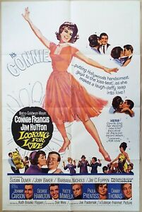 Looking for Love 1964  Connie Francis, Jim Hutton Original US One Sheet Poster