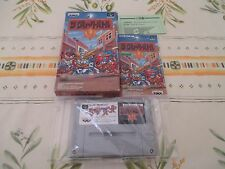 >> THE GREAT BATTLE V 5 SFC SUPER FAMICOM JAPAN IMPORT COMPLETE IN BOX! <<