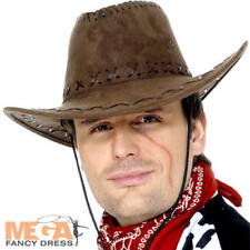 Cowboy Hat Wild West Party Fancy Dress Western Hen Stag Adults Costume Accessory