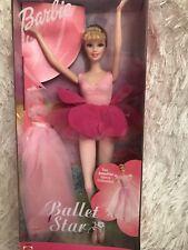 2001 NRFB Barbie Ballet Star Ballerina Doll Vintage Mattel 53930 Pink Costume