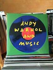ANDY WARHOL AND MUSIC 2LP VELVET UNDERGROUND ROLLING STONES ETC NEW SEALED VINYL