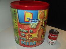 Houston Harvest Scooby Doo 2lb Popcorn Tin Pass It Take it to the Rim Dribble it