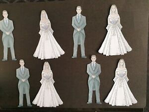 Carnation Craft   BRIDE & GROOM  part of FAIRYTALE DAY New collection  die cuts