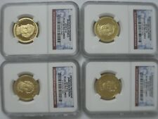 2010  SET  OF ..4''  NGC   PF - 69  ,, PROOF  ULTRA  CAMEO '' ,,PRESIDENTIAL''