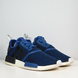 Adidas mystic blue NMD R1 BY2775 boost sneakers athletic shoes Mens Size 10.5