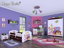 """6-teiliges Set Jugendzimmer Kindermöbel Zimmermöbel """"Tiergarten"""" mit Kinderbett"""