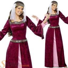 Disfraces de mujer de color principal rojo de poliéster