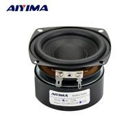 AIYIMA 1PC 3inch 25W Hi-Fi Subwoofer Speaker Woofer Audio Bass Loudspeaker 4ohm