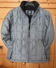 5fec26440 Ladies Silver Grey Down/Feather Jacket Size Medium (12) - TK MAXX